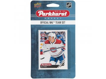 Hokejové Karty Montreal Canadiens Upper Deck Parkhurst 2018/19 Team Card Set