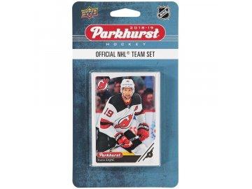 Hokejové Karty New Jersey Devils Upper Deck Parkhurst 2018/19 Team Card Set