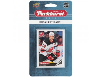 Hokejové Karty New Jersey Devils Upper Deck Parkhurst 2018/19 Team Card Set