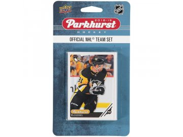 Hokejové Karty Pittsburgh Penguins Upper Deck Parkhurst 2018/19 Team Card Set