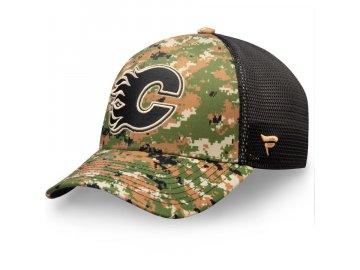 Kšiltovka Calgary Flames Authentic Pro Military Appreciation Speed Flex