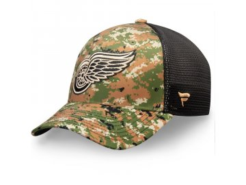 Kšiltovka Detroit Red Wings Authentic Pro Military Appreciation Speed Flex