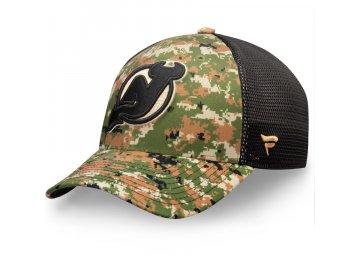 Kšiltovka New Jersey Devils Authentic Pro Military Appreciation Speed Flex