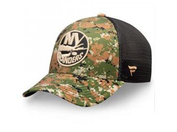 Kšiltovka New York Islanders Authentic Pro Military Appreciation Speed Flex