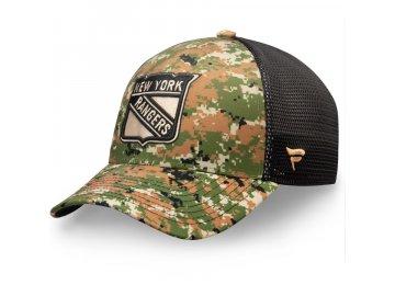 Kšiltovka New York Rangers Authentic Pro Military Appreciation Speed Flex