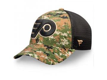 Kšiltovka Philadelphia Flyers Authentic Pro Military Appreciation Speed Flex