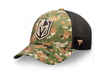 Kšiltovka Vegas Golden Knights Authentic Pro Military Appreciation Speed Flex