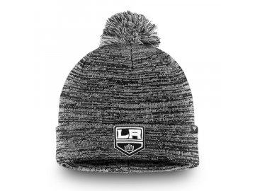 Zimní Čepice Los Angeles Kings Black and White