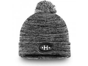 Zimní Čepice Montreal Canadiens Black and White