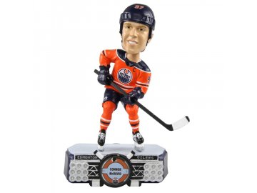 Figurka Edmonton Oilers Connor McDavid #97 Stadium Lights Bobblehead