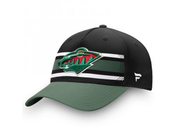 Kšiltovka Minnesota Wild Iconic Alpha Adjustable