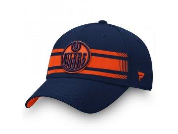 Kšiltovka Edmonton Oilers Iconic Stripe Speed Flex