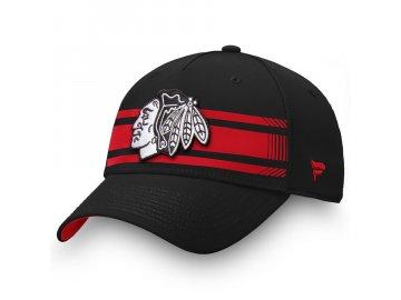 Kšiltovka Chicago Blackhawks Iconic Stripe Speed Flex