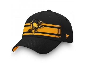 Kšiltovka Pittsburgh Penguins Iconic Stripe Speed Flex