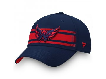 Kšiltovka Washington Capitals Iconic Stripe Speed Flex
