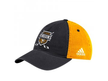 Kšiltovka Pittsburgh Penguins Adidas Coaches Two-Tone Hockey Shield