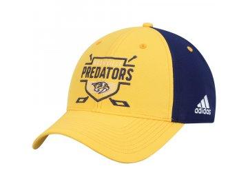 Kšiltovka Nashville Predators Adidas Coaches Two-Tone Hockey Shield