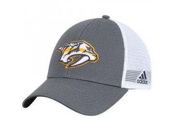 Kšiltovka Nashville Predators Adidas Logo Trucker Snapback