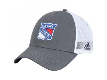 Kšiltovka New York Rangers Adidas Logo Trucker Snapback