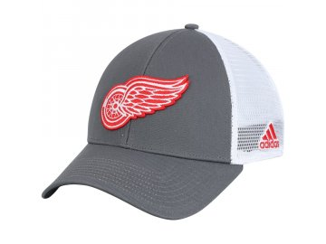 56a1deae0df Kšiltovka Detroit Red Wings Adidas Logo Trucker Snapback
