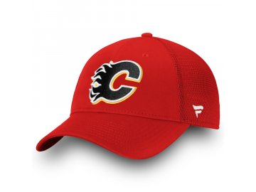 Kšiltovka Calgary Flames Elevated Core Trucker