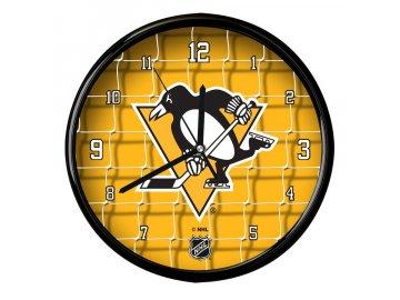 Nástěnné Hodiny Pittsburgh Penguins Team Net Clock