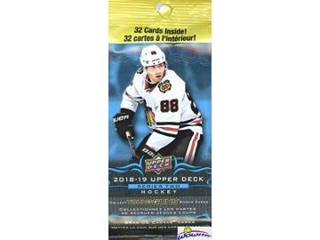 Hokejové Karty NHL Upper Deck 2018-19 Hockey Series 2 Jumbo Pack