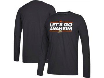 Tričko Anaheim Ducks Adidas Local Ultimate Dassler