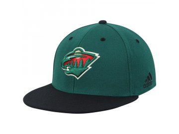 Kšiltovka Minnesota Wild Adidas Two-Tone Logo Flex