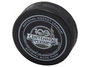 Puk 2017 Centennial Classic Official Game Puck