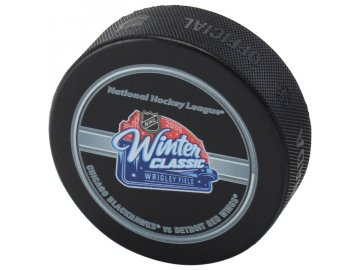 Puk 2009 NHL Winter Classic Official Game Puck