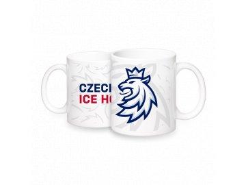 Hrnek logo Lev pattern ČH