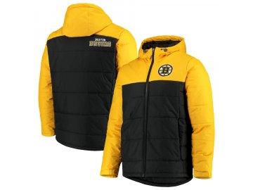 Zimní Bunda Boston Bruins G-III Sports by Carl Banks Exploration Polyfill Hooded Parka