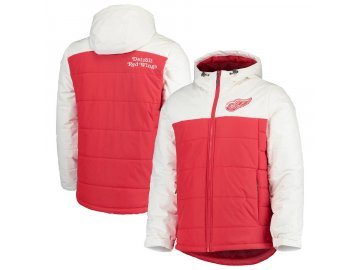 Zimní Bunda Detroit Red Wings G-III Sports by Carl Banks Exploration Polyfill Hooded Parka