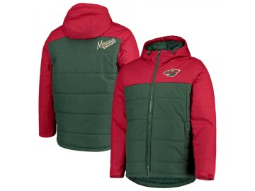 Zimní Bunda Minnesota Wild G-III Sports by Carl Banks Exploration Polyfill Hooded Parka