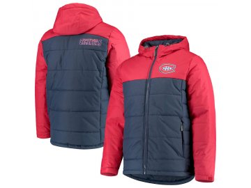Zimní Bunda Montreal Canadiens G-III Sports by Carl Banks Exploration Polyfill Hooded Parka