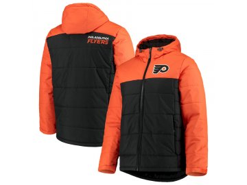 Zimní Bunda Philadelphia Flyers G-III Sports by Carl Banks Exploration Polyfill Hooded Parka