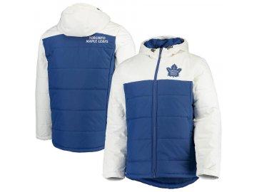 Zimní Bunda Toronto Maple Leafs G-III Sports by Carl Banks Exploration Polyfill Hooded Parka