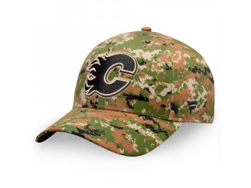 Kšiltovka  Calgary Flames Authentic Pro Military Appreciation Alpha Adjustable