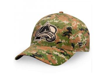 Kšiltovka  Colorado Avalanche Authentic Pro Military Appreciation Alpha Adjustable