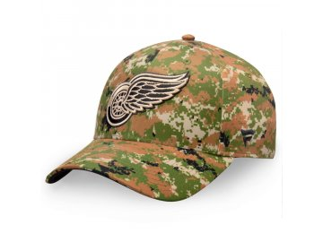 Kšiltovka  Detroit Red Wings Authentic Pro Military Appreciation Alpha Adjustable