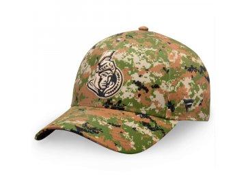 Kšiltovka  Ottawa Senators Authentic Pro Military Appreciation Alpha Adjustable