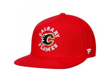 Dětská Kšiltovka Calgary Flames Emblem Snapback