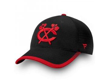 Kšiltovka Chicago Blackhawks Iconic Team Pop Trucker
