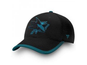 Kšiltovka San Jose Sharks Iconic Team Pop Trucker
