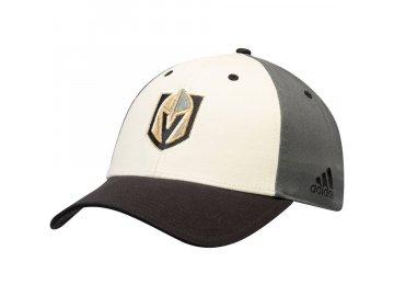 Kšiltovka Vegas Golden Knights Adidas Three-Tone Logo