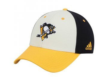 Kšiltovka Pittsburgh Penguins Adidas Three-Tone Logo