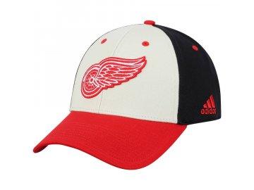 Kšiltovka Detroit Red Wings Adidas Three-Tone Logo