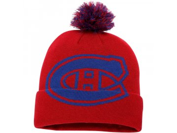 Zimní Čepice Montreal Canadiens Iconic Team Pop Cuffed Knit