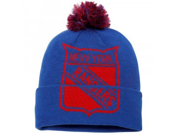 Zimní Čepice New York Rangers Iconic Team Pop Cuffed Knit